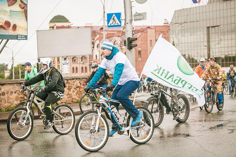 Миниатюра для: Новосибирцы проехали двадцать километров по городу в рамках ежегодного «Сибирского велопробега»
