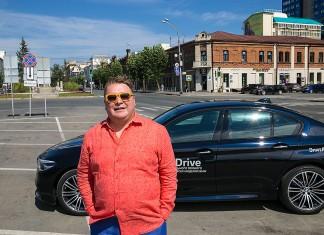 Денис Иванов протестировал новый BMW 5 серии