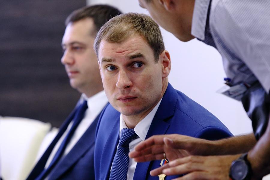 Дмитрий Перминов (на переднем плане)