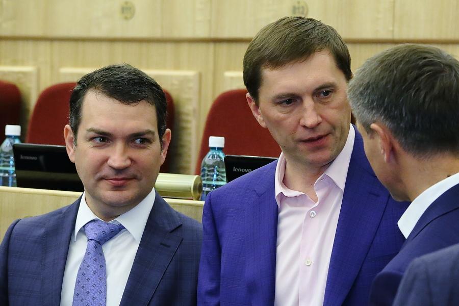 Кудрявцев и Игнатов (слева направо)