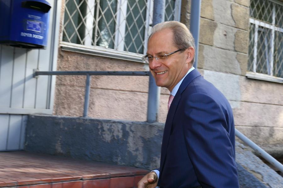 Василий Юрченко уверен в отсутствии состава преступления в своих действиях. Фото Михаила Перикова