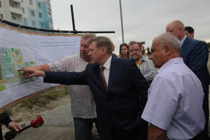 Миниатюра для: В сентябре 2017 года на левом берегу Новосибирска сдадут новую дорогу