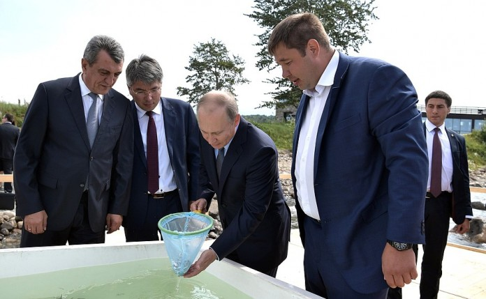 Путин в Сибири