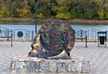 Монетная площадь районном поселке Сузун