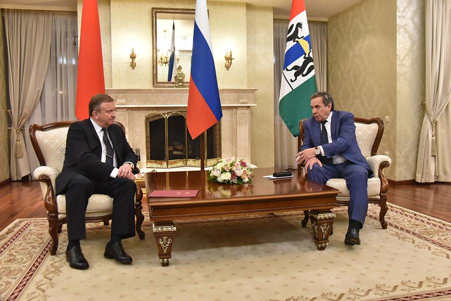 В Новосибирскую область прибыла белорусская делегация
