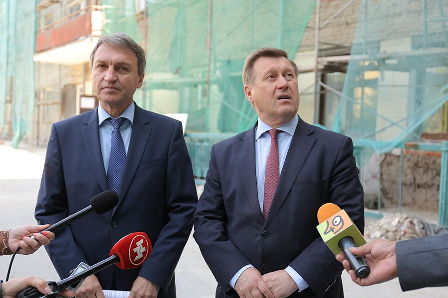 Сергей Клестов и Анатолий Локоть