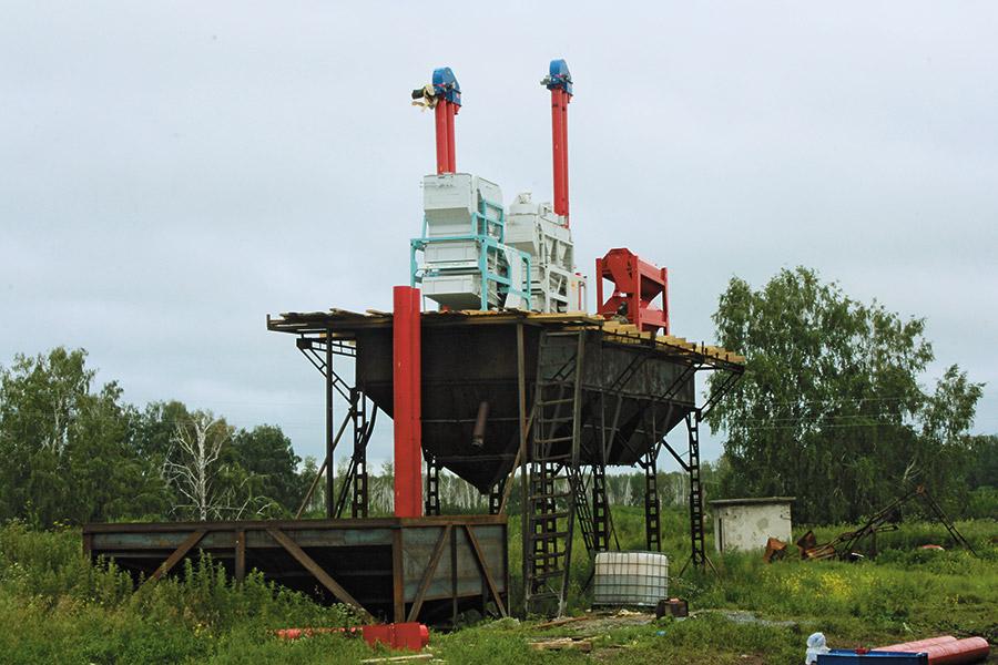 Строительство зерносушильного комплекса