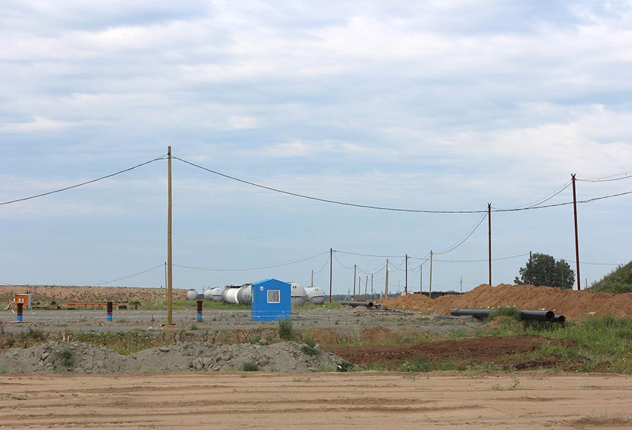 В Куйбышевском районе НСО строится терминал по отгрузке СПБТ