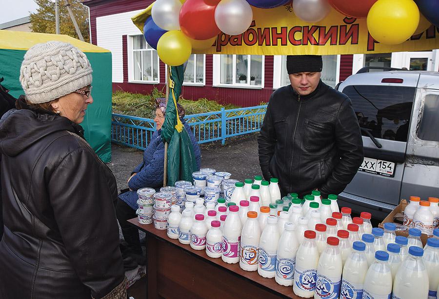 Ярмарка — главное для производителей молочной продукции высокое качество местного сырья