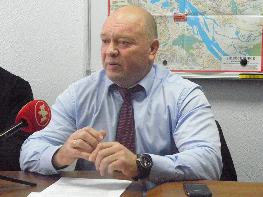 Президент Сибирской ассоциации автомобильных перевозчиков Вячеслав Трунаев
