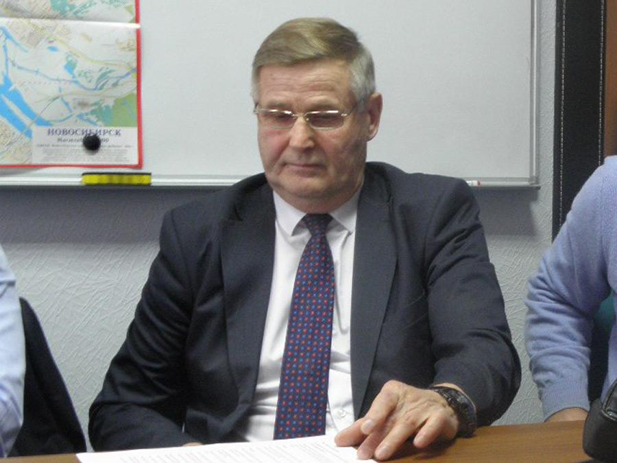 Президент СРО «Транспортный союз Сибири», Валерий Новоселов