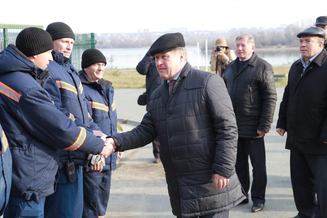 Новосибирские аварийные службы готовы к зиме