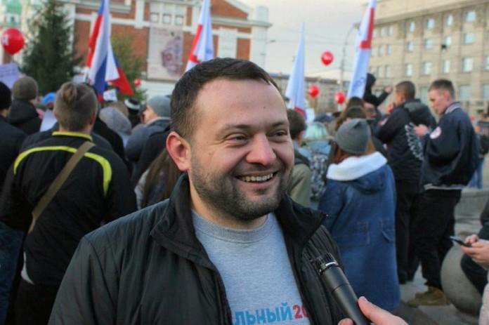 Руководителю штаба Навального в Новосибирске дали четверо суток