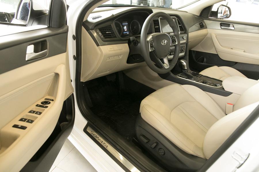 Презентация новой Hyundai Sonata