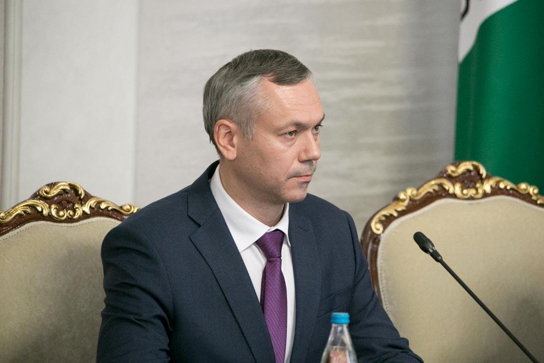 Представление врио губернатора Новосибирской области