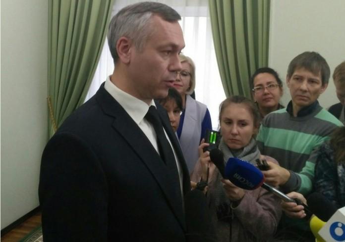 Андрей Травников отметил, что «Сибирский антрацит» планирует стать крупнейшим налогоплательщиком Новосибирской области в 2018 году. Фото Софии Коротич