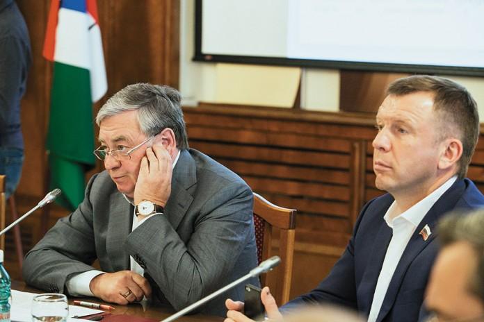 Миниатюра для: Депутаты заксобрания НСО настоятельно попросили Георгия Жигульского являться на заседания