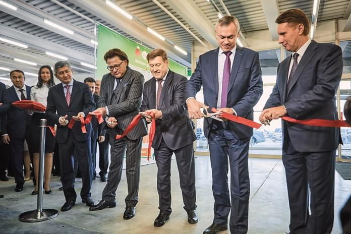 16 ноября в Новосибирске начал работу одни из крупнейших в Сибири оптово-распределительных центров