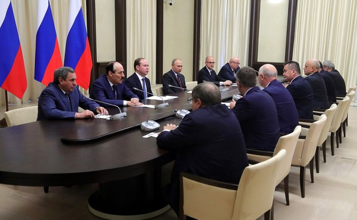 Встреча Путина с экс-губернаторами