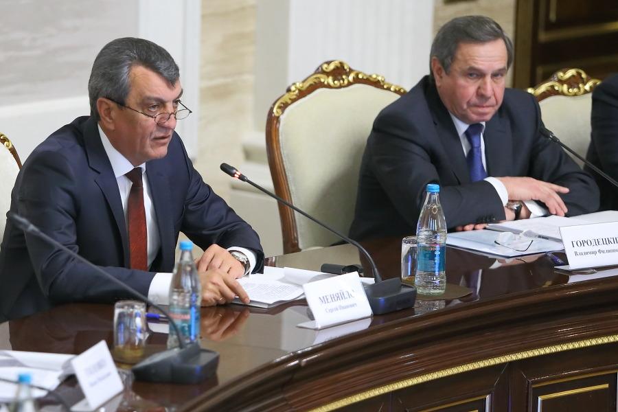 Владимир Городецкий и Сергей Меняйло