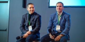 "Александр Шиляев (слева) и Алексей Ноздрин (справа). Фото предоставлено оргкомитетом конференции ""Груша"""