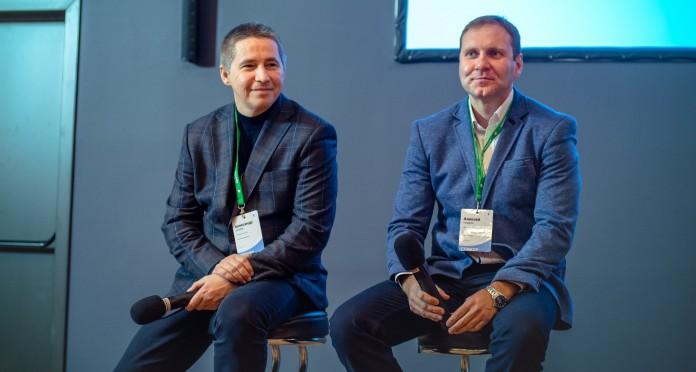 Александр Шиляев (слева) и Алексей Ноздрин (справа). Фото предоставлено оргкомитетом конференции