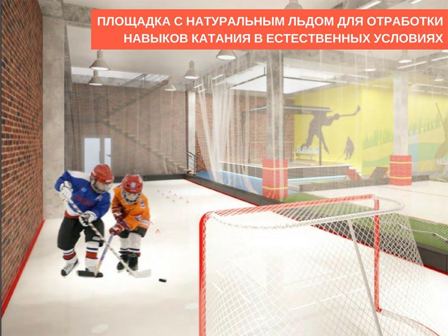 проект создания центра хоккейного мастерства «Космос»