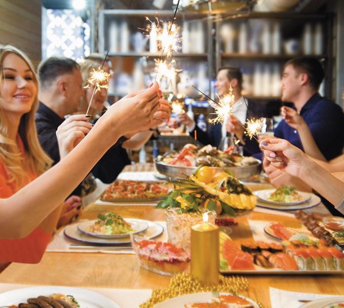 Миниатюра для: Праздник в новогоднюю ночь: предложения ресторанов Новосибирска