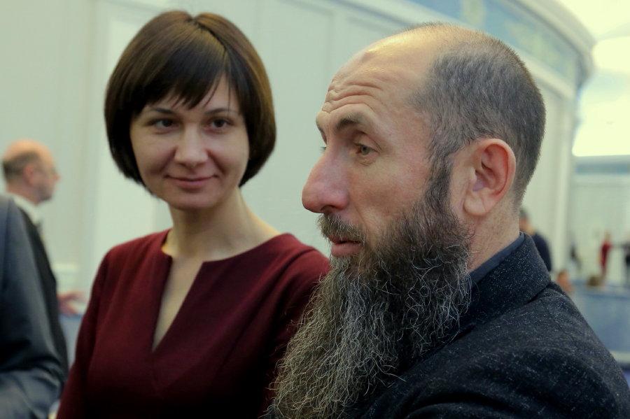 Снежана Любарь и Владимир Кехман
