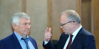 Юрий Прощалыкин и Владимир Знатков
