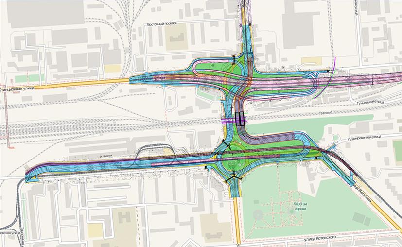9-миллиардная транспортная развязка поможет разгрузить магистрали левобережья