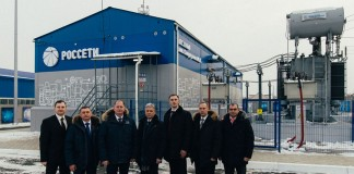 В Красноярске запущена электрическая подстанция имени М. П. Сморгунова