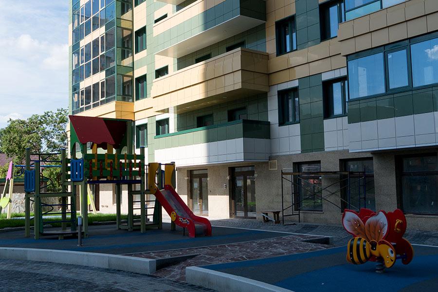 Жилой комплекс «Дождь»:  бизнес-класс в центре Новосибирска - Фотография