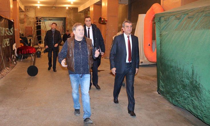 Полпред попросит обновить Новосибирский цирк