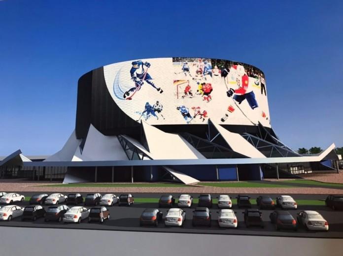 Где в Новосибирске будет построен ледовый дворец спорта? - Картинка