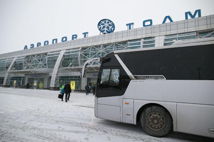 Миниатюра для: В аэропорту Толмачёво будет увеличена площадь пассажирского терминала