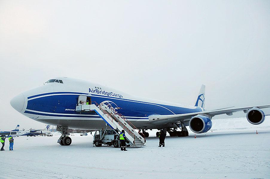 AirBridgeCargo ушла из «Толмачёво» в аэропорт «Красноярск»
