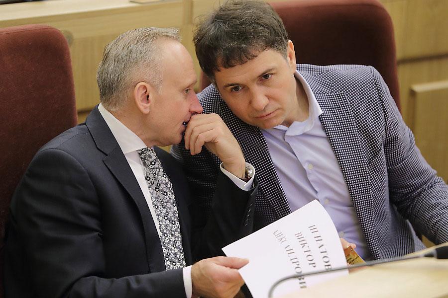 Андрей Панферов и Дмитрий Асанцев