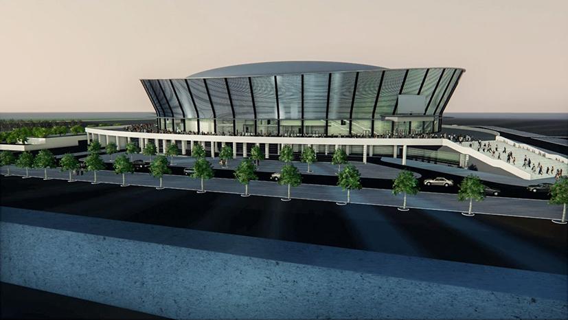 Где в Новосибирске будет построен ледовый дворец спорта? - Фото
