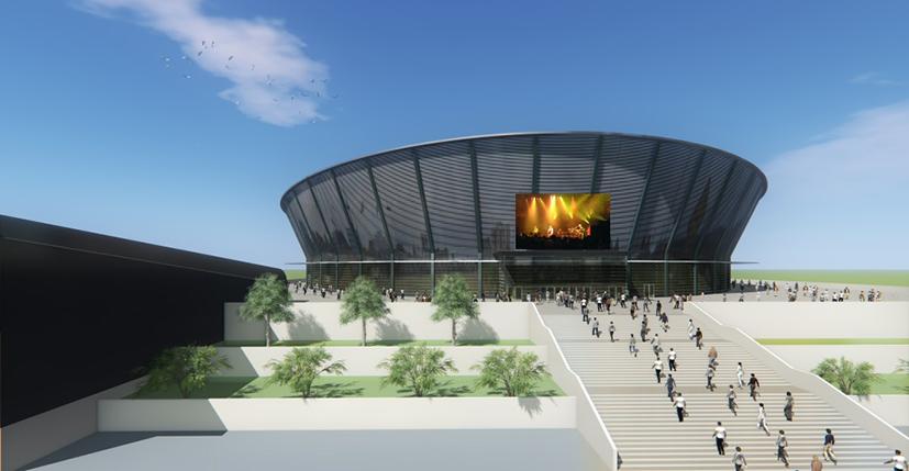 Где в Новосибирске будет построен ледовый дворец спорта? - Фотография