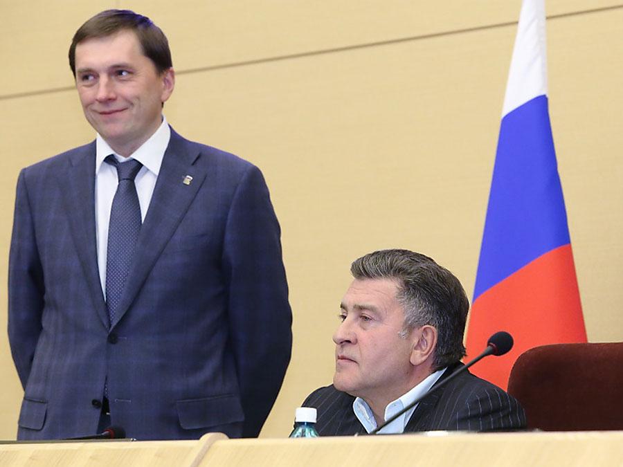 Виктор Игнатов и Андрей Шимкив