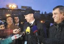 Андрей Травников и Сергей Меняйло