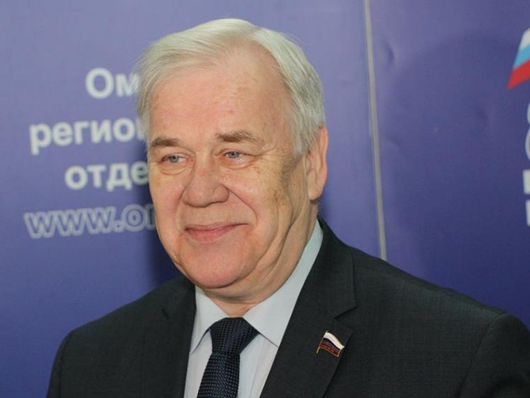 Виктора Назарова приняли вЗаксобрание Омской области