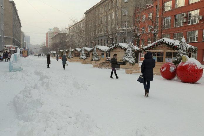 Миниатюра для: Суд отказал общественникам в признании незаконным перекрытия улицы Ленина в Новосибирске