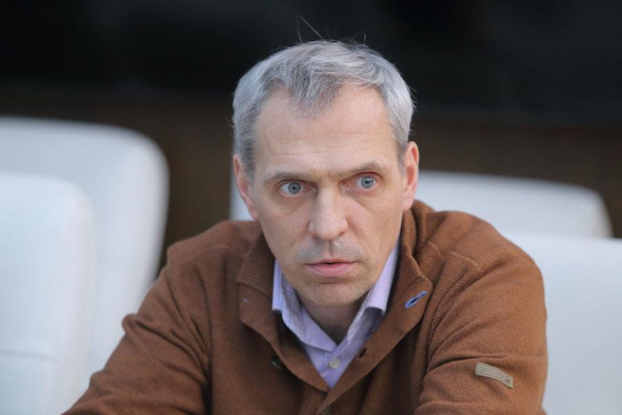 Проректор НГУ по общим вопросам Сергей Малиновский.