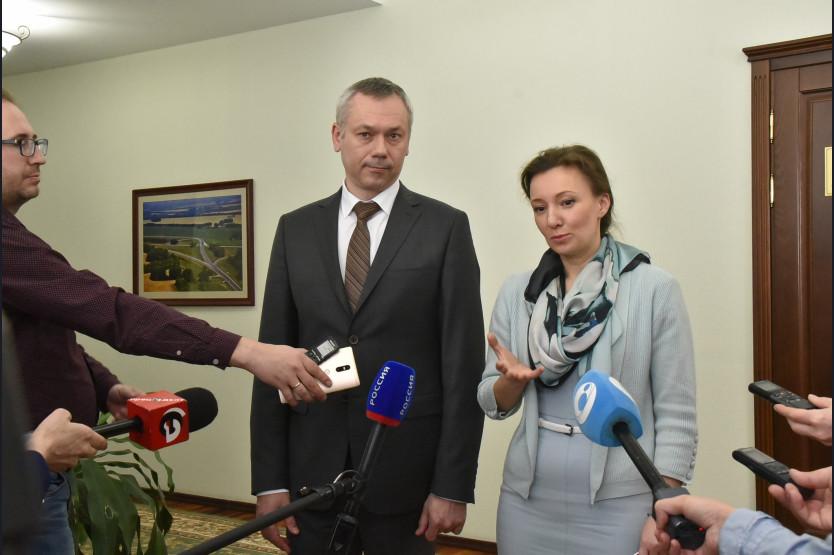 Анна Кузнецова поведала оперспективах возведения детских медучреждений вНовосибирске