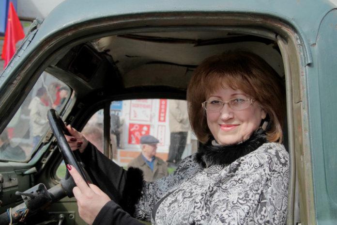 Депутат ГД РФ Вера Ганзя