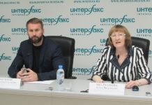 Александр Зырянов и Ольга Молчанова