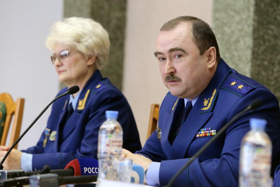 Любовь Кузьменок и Владимир Фалилеев