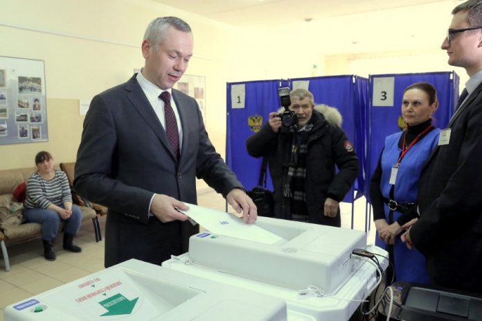 Травников на выборах